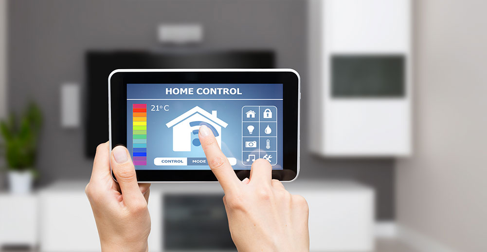 Home Control System on a Tablet